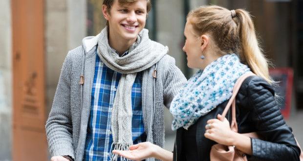 Flirt körpersprache mann